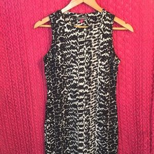 Vince Camuto Reptile Abstract Print Professional